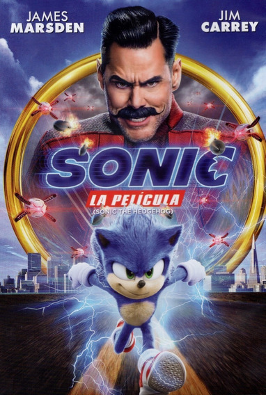 Sonic La Pelicula Jim Carrey Dvd