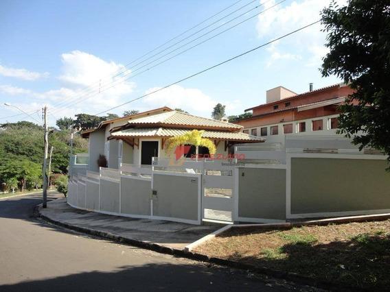 Casa Residencial À Venda, Centro, Águas De São Pedro. - Ca0505