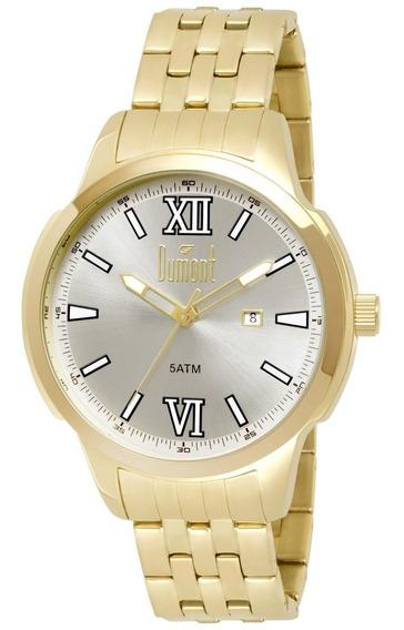 Relógio Dumont Masculino Du2115db/4k Original Barato
