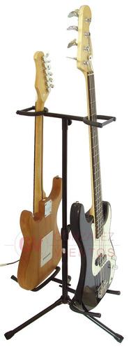 Imagen 1 de 8 de Pie Mxp Gs-102 Doble Para Guitarra O Bajo