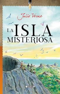 Libro. La Isla Misteriosa, Julio Verne. Servilibro.