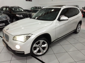 Bmw X1 Sdrive 2014 Branca 20i 2.0 Turbo Gas Autom Teto Top