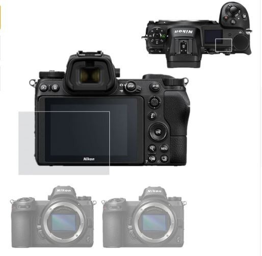 Protetor De Tela Lcd Para Nikon Z6 /z7 Camera Auto-adesivo
