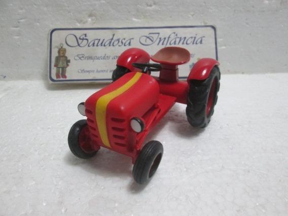 Miniatura Trator Em Plástico Duro 12 Cm