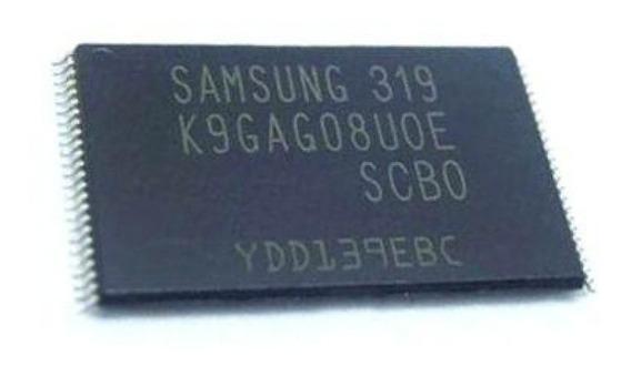 Memória Flash Nand Gravada Un32d5500 Un40d5500 Un46d5500