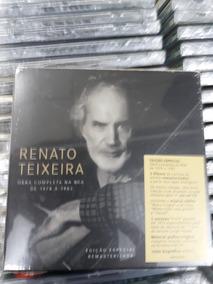 Box De Cds Renato Texeira Com 5 Cds Do Início Da Carreira