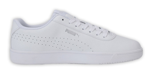 Tenis Puma Casual Court Pure Mujer Blanco