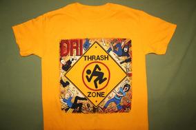 Gusanobass Playera Rock Metal Dri Dirty Rotten Thrash Zone