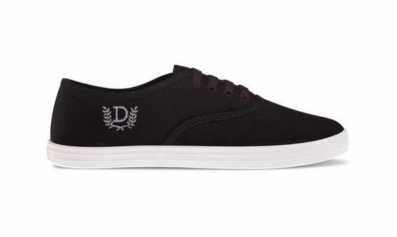 Zapatillas Lona Negro