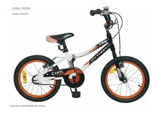 Bicicleta Cool Rodado 16 Varon Aluminio