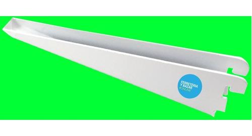 20 Mensula 37 Cm Reforzada P/ Riel Tambien X Unidad Consulte