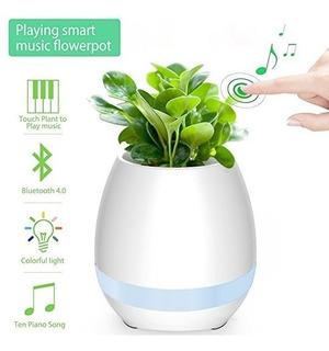 Maceta Musical Parlante Bluetooth Novedad!!!