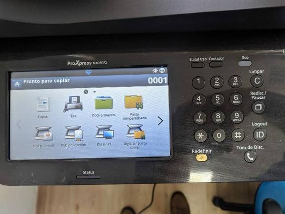 Impressora Multifuncional Proxpress Samsung M4080fx