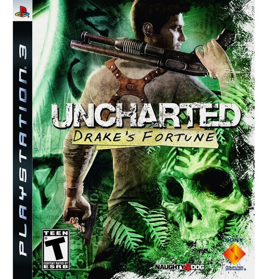 Uncharted Drakes Fortune (mídia Física) - Ps3