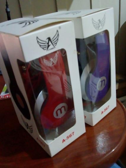 Fone Ouvido Mex Style A-567 Headfone P/ Celular Mp3 Radio