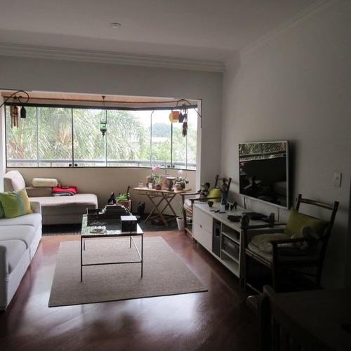 Imagem 1 de 15 de Lindo Apartamento Em Rua Sem Saida No Morumbi - Nm2241