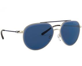 405f46e1cb Lentes De Sol Michael Kors Mk1041 101480 Antigua Azul/dorado