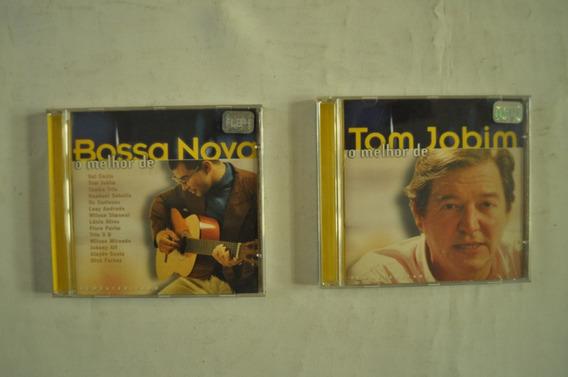 Lote X2 Bossa Nova Tom Jobim Cd Música Brasil