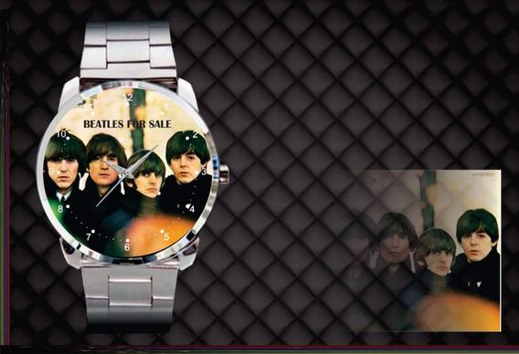 Relógio De Pulso Personalizado Banda Beatles Album For Sale