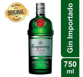 Gin Tanqueray Importado London Dry Garrafa 750ml Original