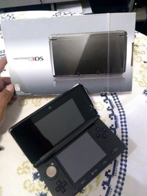 Nintendo 3ds Black Piano Travado