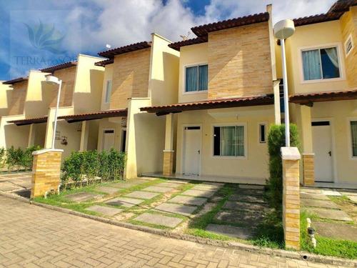 Duplex Em Condomínio Com 3 Suítes E Lazer Completo. - Ca0388