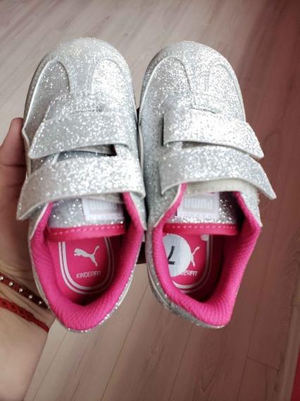 Zapatillas Puma Nena Con Brillos