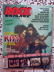 Revista Rock Brigade N°152 Março/99 Kiss (frete Grátis)