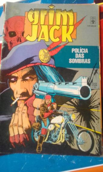 Hq Grim Jack Polícia Das Sombras