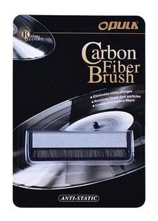 Cepillo De Carbono Limpia Vinilos Antiestático