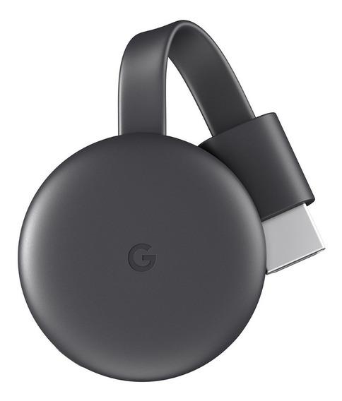 Google Chromecast 3rd Generation Full Hd Carvão *sem Caixa*