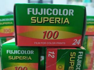 Kit Com 10 Filmes Fujicolor Superia 24 Poses