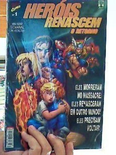 Livro Heróis Renascem O Retorno 1 Ao 4 Mini Vários