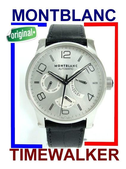 Montblanc Timewalker Reserva De Marcha 2 Calendários 7142 !