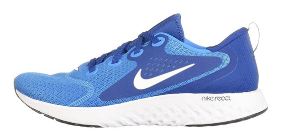 Tenis Nike Legend React Aa1625-401 Johnsonshoes Env Gra