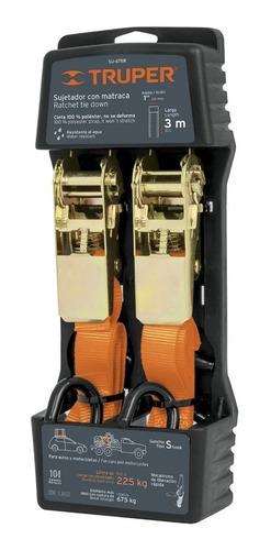 Imagen 1 de 3 de 2 Cinta Sujetadora Malacate Vehículo 3 Mts Carga Max 675 Kg