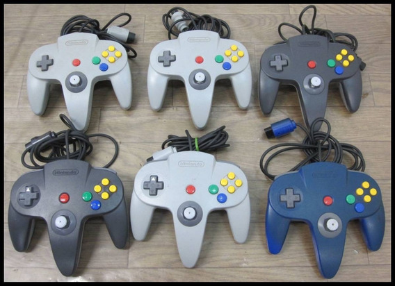 Controle Nintendo 64 Original - Várias Cores
