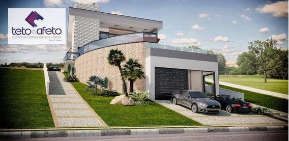 Casa Residencial À Venda, Condominio Porto Atibaia, Atibaia. - Ca3088