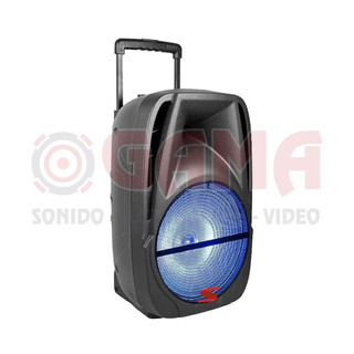 Bafle Activo 2 Vias 1x 12 Pvc Bateria/bluetooth/fm/microfo S