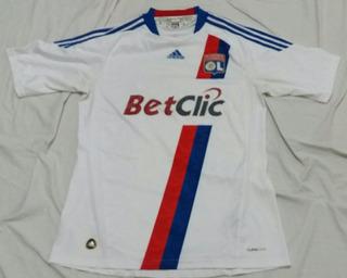 Camisa Lyon - adidas- 2010