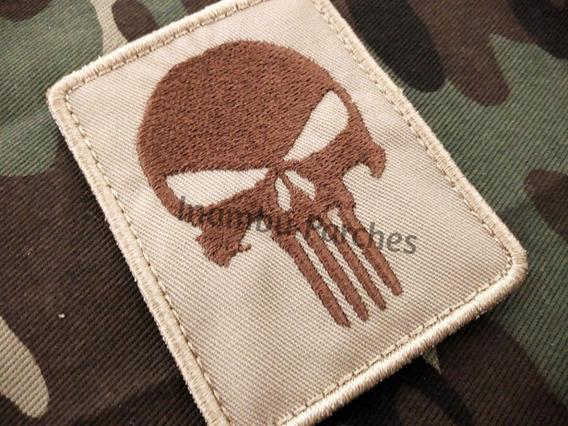 Punisher As De Picas Parches Bordados Naipes P/coser Varios