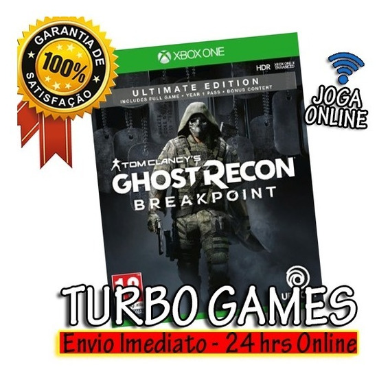 Tom Clancys Ghost Recon Breakpoint Ultimate + Brinde
