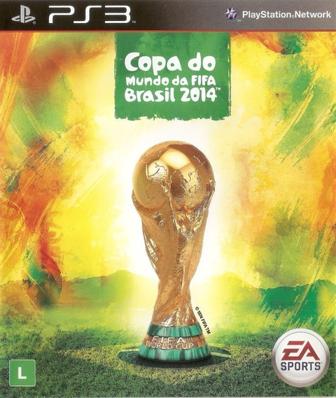 Fifa Copa Do Mundo Ps3 Original Envio Imediato Psn!