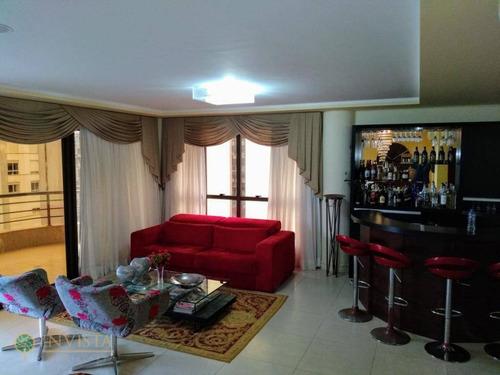 Imagem 1 de 30 de Apartamento Mobiliado Com 3 Suítes E 3 Vagas - Ap4786