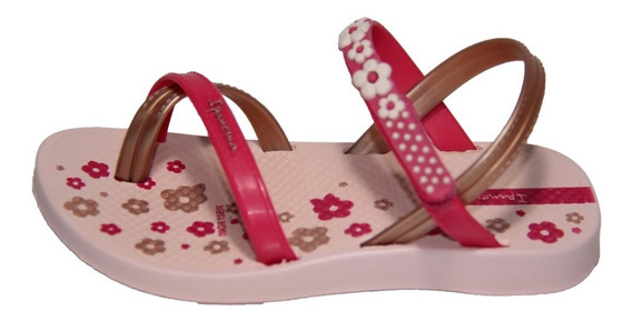 Ojota Ipanema Fashion Iv Sd Baby Rosa / Rosa