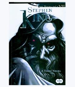 Livro A Torre Negra - Stephen King - Lacrado - Tam. 23 X 16