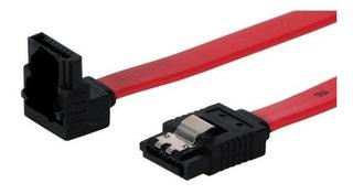 Cable Sata Datos Con Traba En Ambos Extremos 39cm Mscompu10