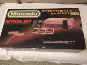 Nintendo Action Set Entertainment System Para Coleção