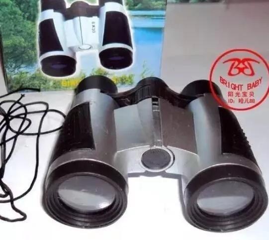 25 Binóculos Infantil + 25 Mini Lanterna + 25 Lupa Zoom 50mm