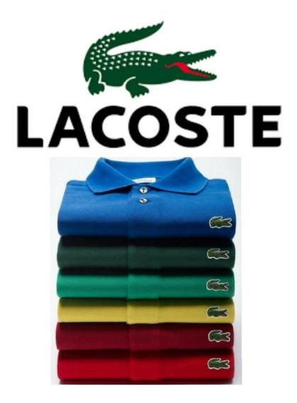 Kit Com 5 Camisas Polos - Promoção Especial Dia Dos Pais !!!